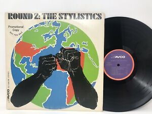 The Stylistics Round 2 LP Vinyl Record Original Pressing 1972 Rare Promo