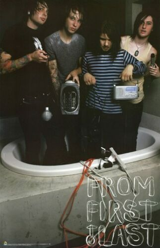FROM FIRST TO LAST POSTER In a Bath Tub RARE NEW 24X36