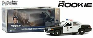 GREENLIGHT 84111 CROWN VICTORIA  POLICE INTERCEPTOR LAPD model THE ROOKIE  1:24