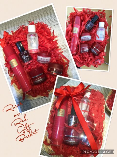 Gift baskets cards and gift ideas collection on ebay ladies avon skincare basket box mothers day girlfriend birthday occasions negle Images