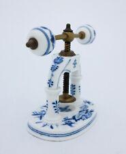 Old and very Unusual Nutcracker - Meissen - Blue Onion #149