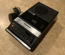 Vintage Panasonic Rq-2107 Portable Cassette Player Tape Recorder 1980s Tested