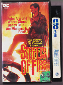 Streets-Of-Fire-Vintage-VHS-Video-Tape-1984