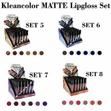 All 24 PCs! Kleancolor Madly MATTE Lip gloss Set