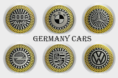 Russia 10 rubles BMW car The coin in the card Series Germany cars