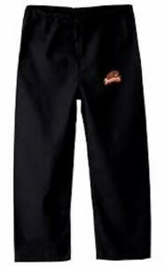 Image is loading Oregon-State-Beavers-XL-Black-Embroidered-Beaver-Logo-