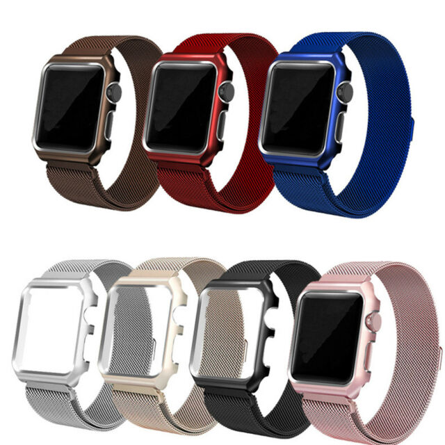 Apple Watch Band Orobay Milanese Stainless Steel Fully Magnetic Closure Clasp For Sale Online Ebay