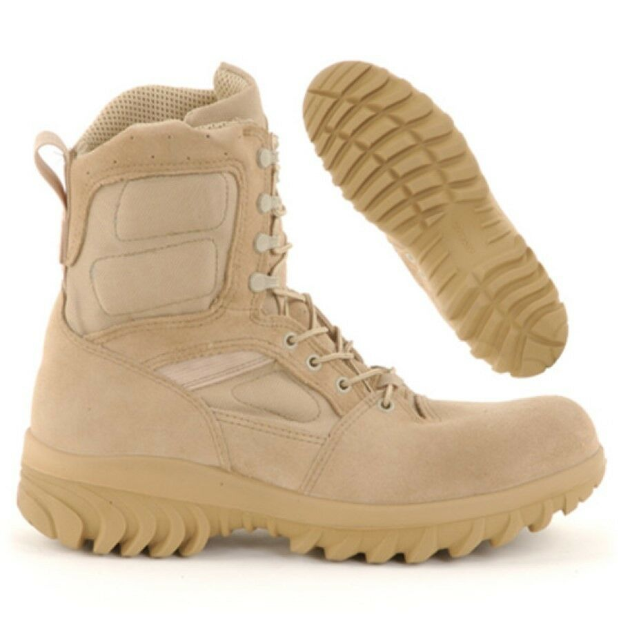 Calzado Altama hoplita Military Hot Weather estilo bota de combate 5788 tan