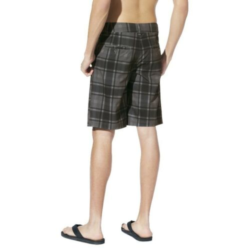 NEW Mossimo Men Stretch Hybrid Swim Suit Trunks Board Shorts Surf Pants Plaid