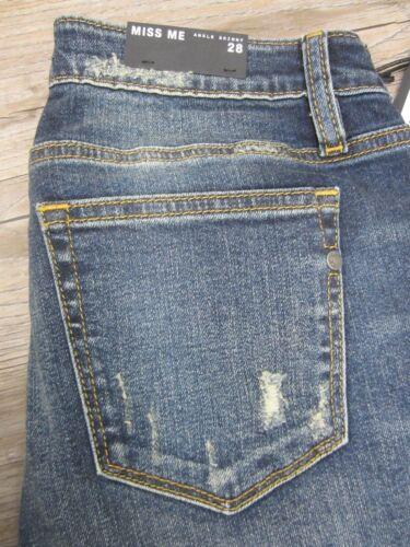 Miss a vita skinny skinny Nwt Me jeans taglia M2084ak Jeans 26x27 bassa ricamati gSwWWqFdIt