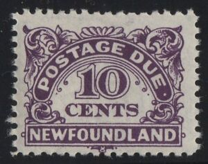 MOTON114-J7ii-period-after-due-pos-91-Newfoundland-Canada-mint-never-hinged