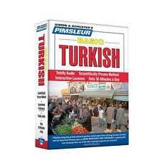 NEW 5 CD Pimsleur Learn to Speak Basic Turkish Language