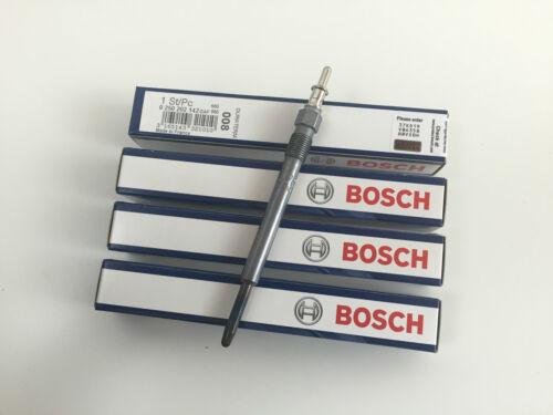 4 x Bosch duraterm Bujia precalentamiento glp008 0250 202 142 mercedes w202 w203 s202 s203