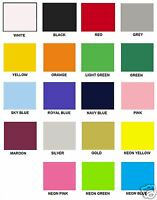 T Shirt Flex HTV Vinyl for Garment Clothing Heat Press Transfer Sold by Mtr/Sht