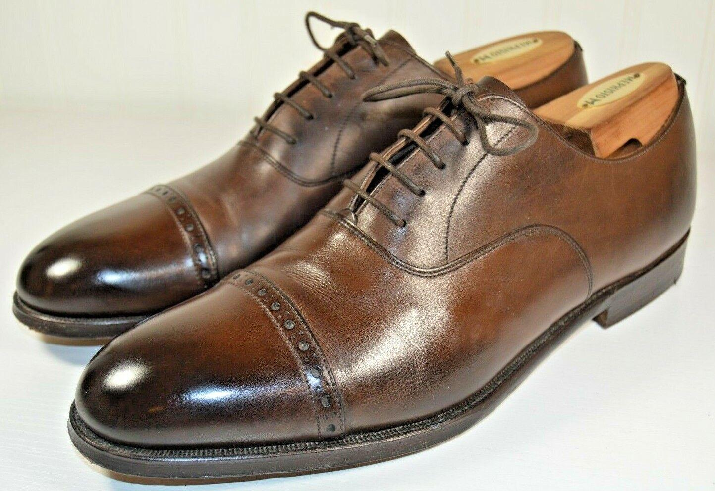 Stuarts Grenson Masterpiece D Choice Puntera Zapatos de hecho en Inglaterra