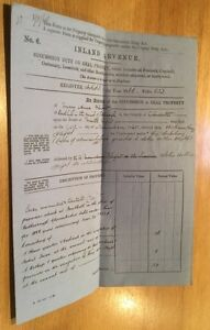 1866-Rodborough-Glos-Mary-Anne-Flight-Revenue-Document