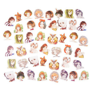 45Pcs-box-Kawaii-Girl-Paper-Stickers-Diary-Decor-Diy-Scrapbooking-Christmas-G-iv