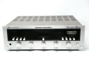 MARANTZ-2220B-Stereo-Receiver-Cleaned-Tested-and-Beautiful-LED-Upgrade