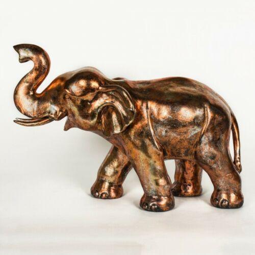 NEW Elephant Rhino Lion Home Metal /& Resin Home Ornaments Bronze Silver Safari