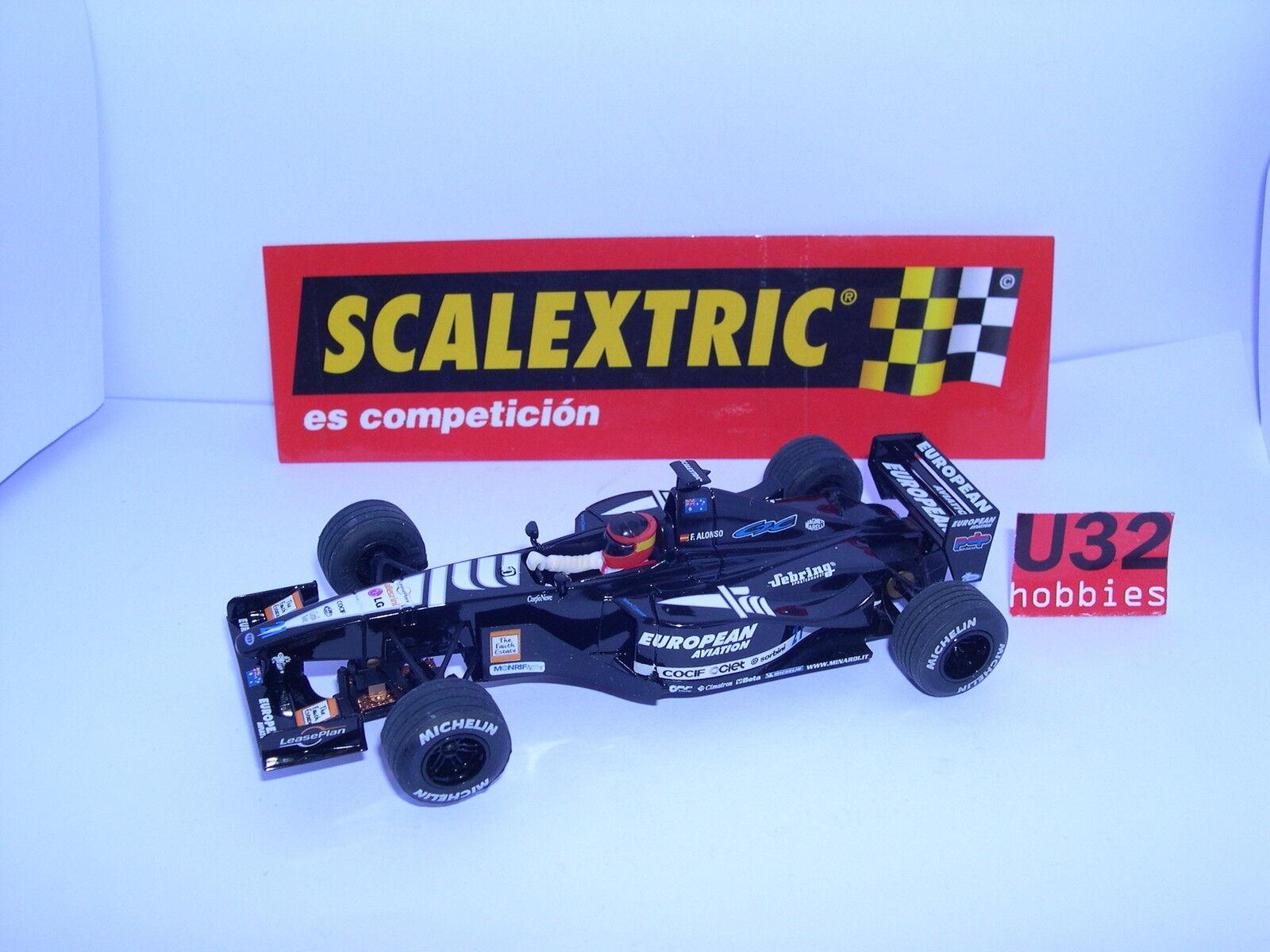 SCALEXTRIC 6070 MINARDI F1 AUSTRALIA 2001 FERNANDO ALONSO MINT UNBOXED