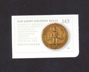 Mi. Nr. 2516 Goldene Bulle selbstkebend postfrisch - Deutschland - Mi. Nr. 2516 Goldene Bulle selbstkebend postfrisch - Deutschland