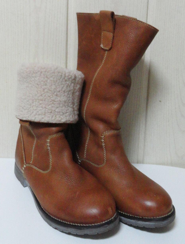 Botas 100% Piel Pelo ETIEM 37 Soft Leather Boots IMPECABLES valen /MiraFotos