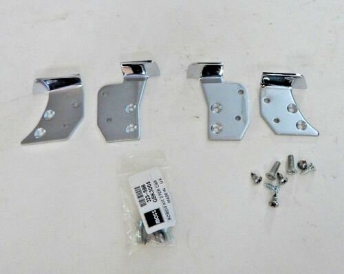 New Set of Door Cap Cappings Mounting Brackets and Screws MGB Roadster 1965-80
