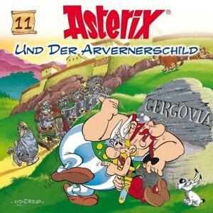 ASTERIX-UND-DER-AVERNERSCHILD-CD-FOLGE-11-HORSPIEL-NEU