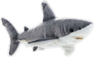 NATIONAL-GEOGRAPHIC-GREAT-WHITE-SHARK-PLUSH-SOFT-TOY-40CM-STUFFED-ANIMAL-BNWT