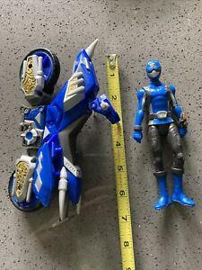 Power Rangers Blue  Cycle & Figure