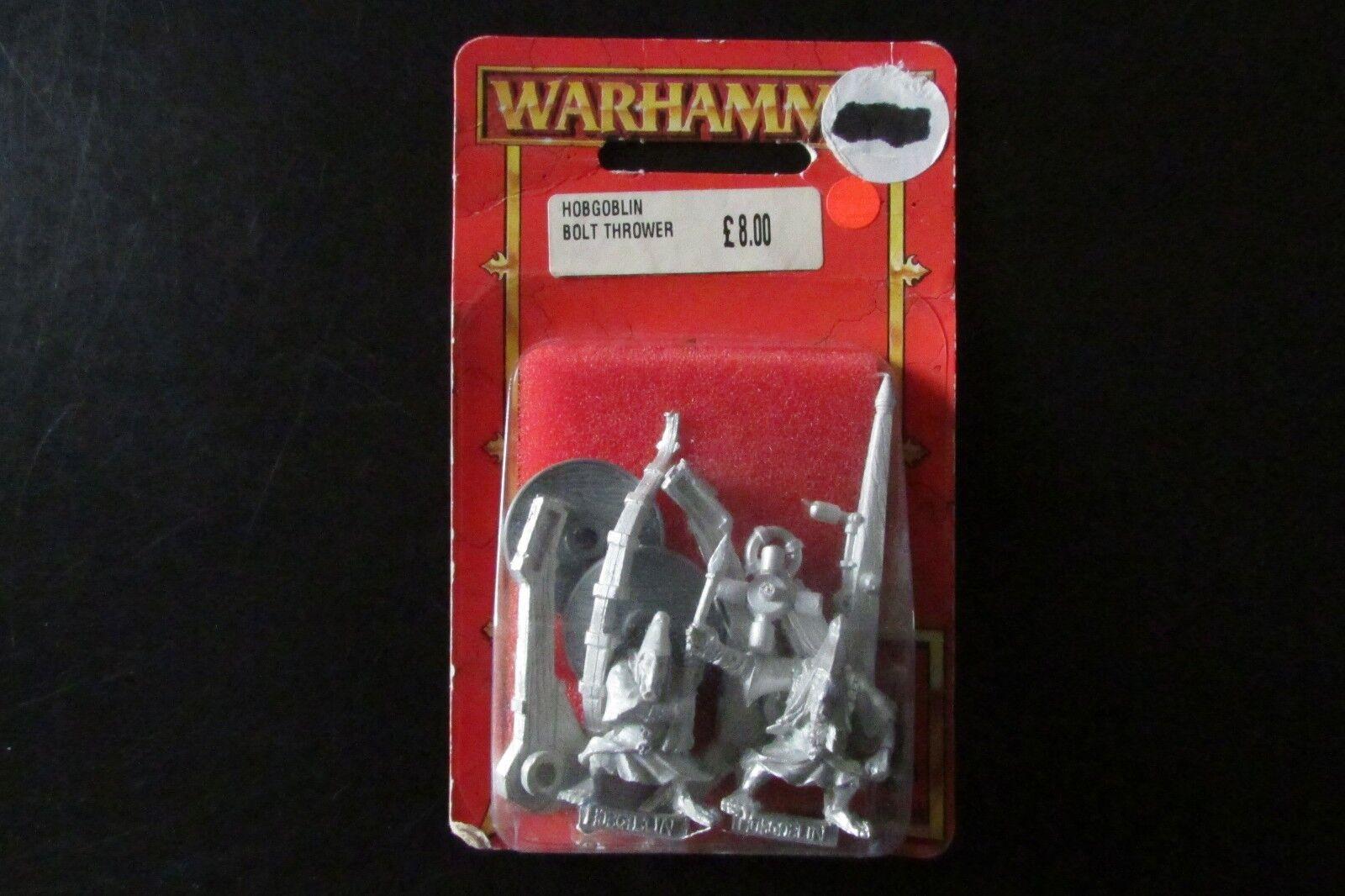 Épuisé Citadel WARHAMMER METAL NAIN Chaos Hobgoblin Bolt  lance EntièreHommest neuf dans sa boîte  grande remise