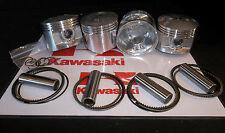 KAWASAKI KZ1000 Z1000 (1015cc) PISTON KITS (4) NEW +0.50mm KiR 1976-1981