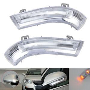 LED-AussenSpiegel-Seiten-Blinker-Blinkleuchte-links-amp-rechts-Fuer-Golf-5-Plus-5M1