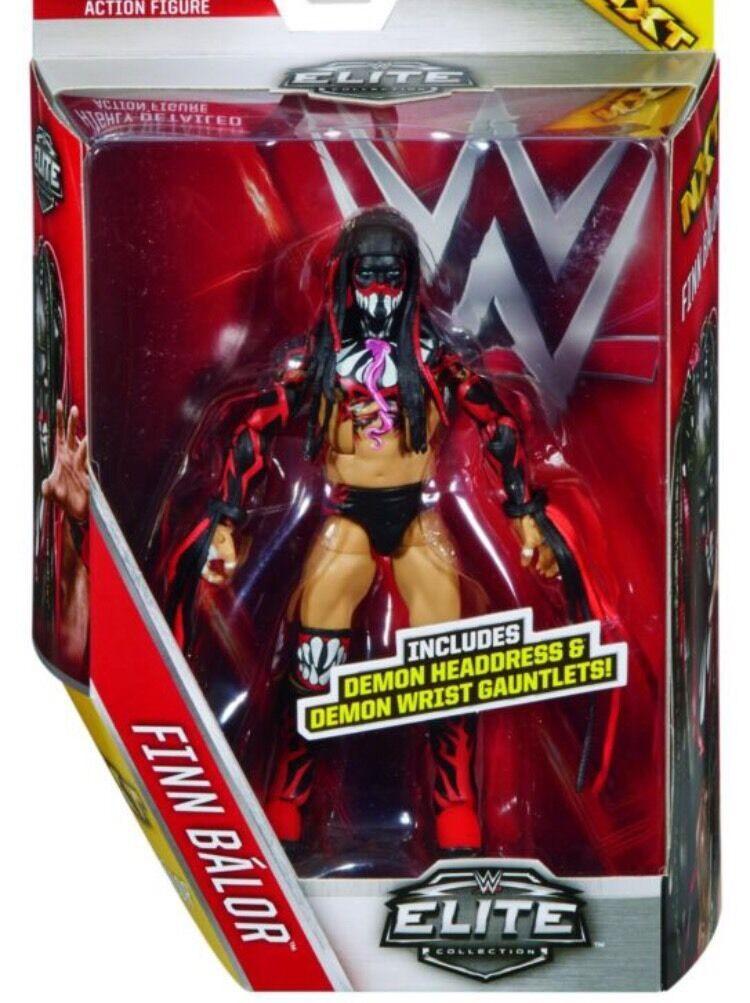 WWE ELITE 41 SERIES FINN FINN FINN BALOR NXT WRESTLING MATTEL ACTION FIGURE ACCESSORIES 42 357a55