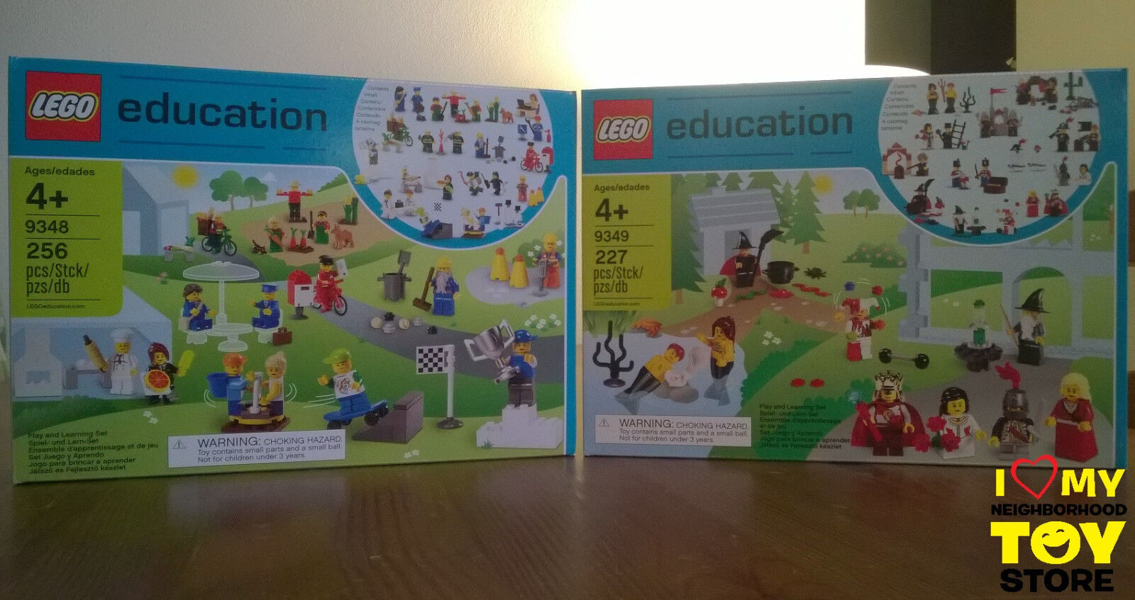 RETIrouge - LEGO 9348 9349 COMMUNITY, FAIRYTALE & HISTORIC EDUCATION (2011) - MISB