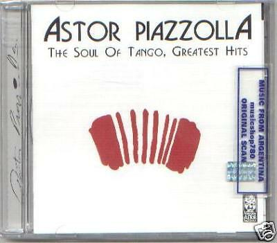 ASTOR PIAZZOLLA THE SOUL OF TANGO 2 CD BEST GREATEST HITS BEST