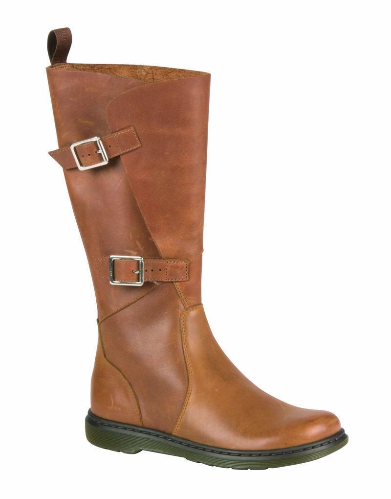 Dr Martens Slip On Boots Caite Tan 21525220 Original Doc