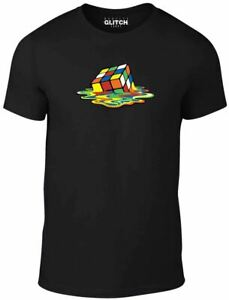 Rubix-Cube-Men-039-s-T-Shirt-Comedy-Sheldon-T-Shirt-Funny-Big-Bang-Theory-TBBT-tee