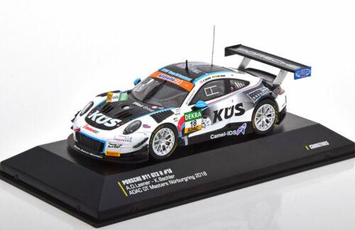 ADAC GT Masters Nürburgring 1:43 CMR Porsche 911 GT3 R #18 991