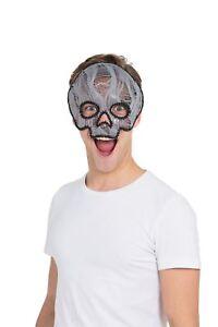 Doux Ghostly Skull Masque (monture De Lunettes), Halloween, Robe Fantaisie-afficher Le Titre D'origine Prix ModéRé