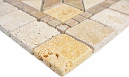 Einleger noce gold chiaro beige gelb braun matt Wand Boden Küche Bad WBDEKO80