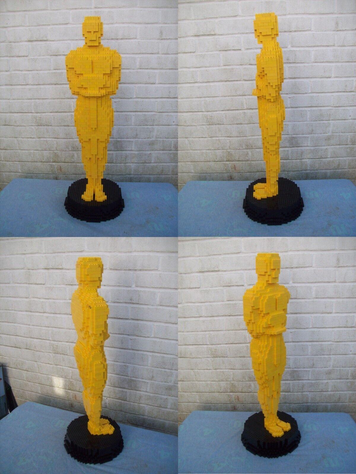 Lego Personalizado construido grandes premios Oscar estatuilla con instrucciones