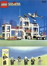 LEGO 6398 CENTRAL PRECINCT HQ INSTRUCTION MANUAL