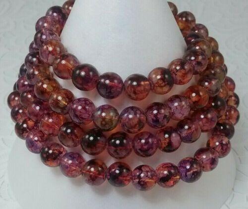 ❤ perles de verre ❤ imitation Opalite ❤ 8 mm ❤
