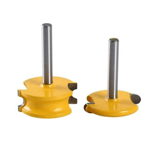 Woodworking Tool 1//4/'/' 1//2/'/' T-Slot Cutter Steel Handle Milling Router Bits J