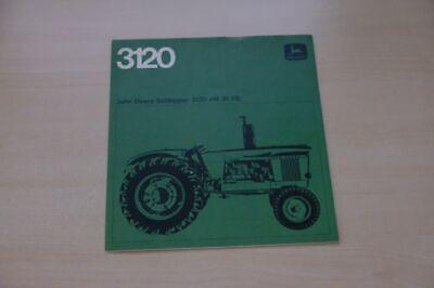 199144) John Deere - Schlepper 3120 - Prospekt 196?