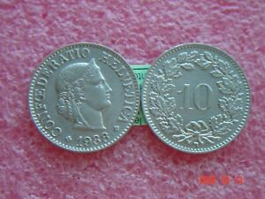 1-x-10-Rappen-1938-Muenzen-Schweiz-1938-B-Swiss-siehe-Bild-Coin-Svizzera-3-02gr