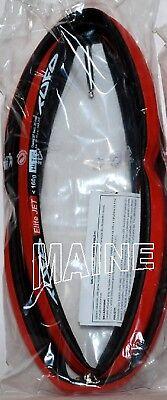 NEW WHITE TUFO LABEL black Tufo Elite Ride tubular 700 x 23 red