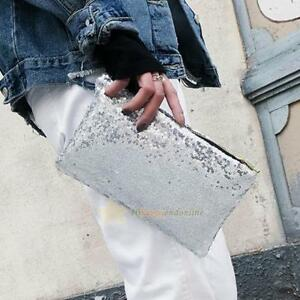 Women-Glitter-Sequins-Handbag-Party-Evening-Envelope-Clutch-Bag-Wallet-Purse