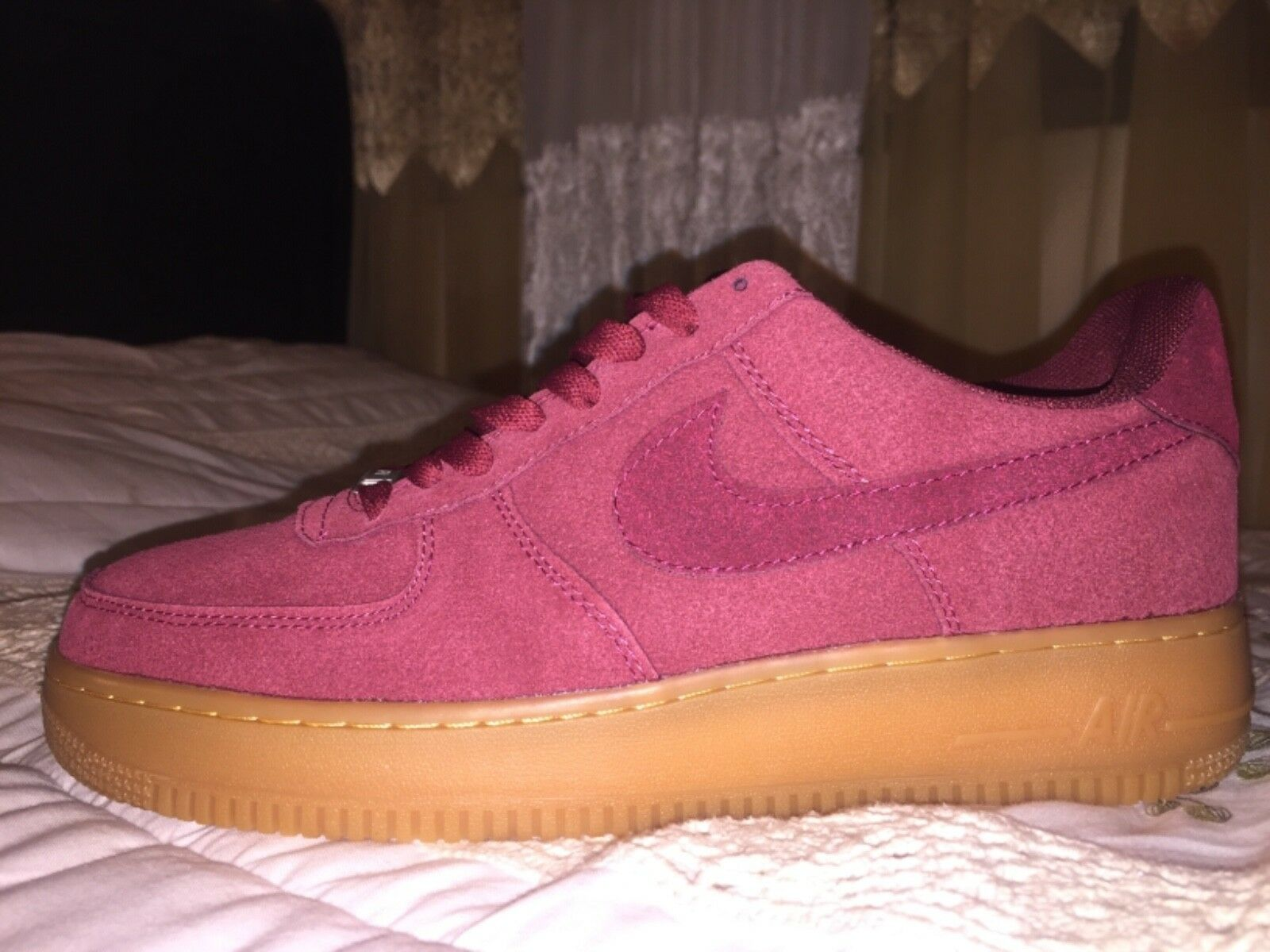 Nike air force 1: 07 - granat granat granat / kaugummi d9a1cd